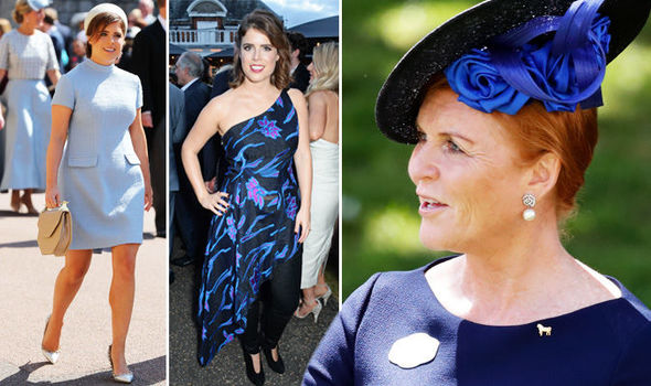 Princess Eugenie Sarah Ferguson is said to influence her style Photo (C) GETTY