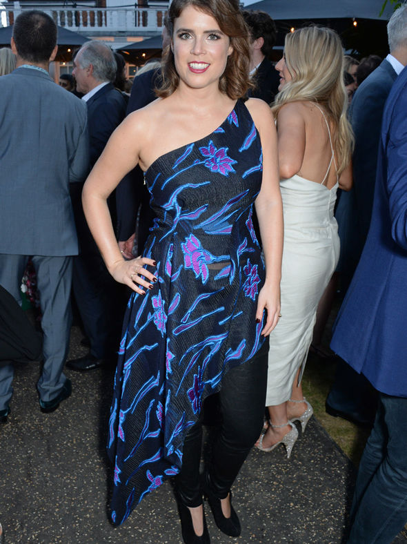 Princess Eugenie She is well known for her experimental fashion Photo (C) GETTY