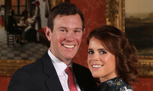 Princess Eugenie There is not a large height gap between her and fiance Jack Brooksbanks