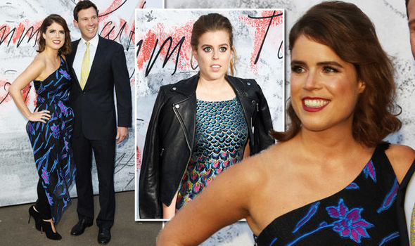 Princess Eugenie and Beatrice At Serpentine Party after Ascot ahead of wedding Photo (C) GETTY