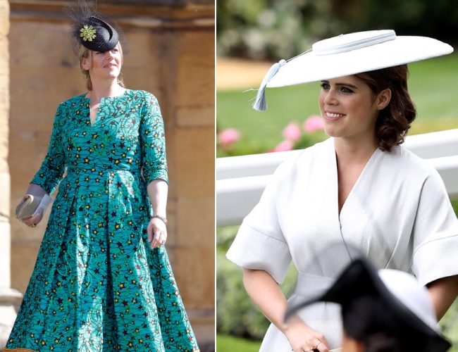 Princess Eugenie and Laura Lopes Photo (C) GETTY
