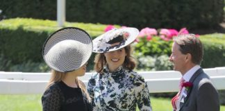 Princess Eugenie and Princess Beatrice ensured they stuck to Royal Ascot protocol Wenn