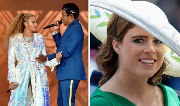 Princess Eugenie wedding Will Beyonce and Jay Z attend Royal SPOTTED at On The Run gig Photo (C) GETTY