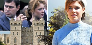 Princess Eugenie wedding Will Duchess of York and Prince Andrew sit together Photo C GETTY