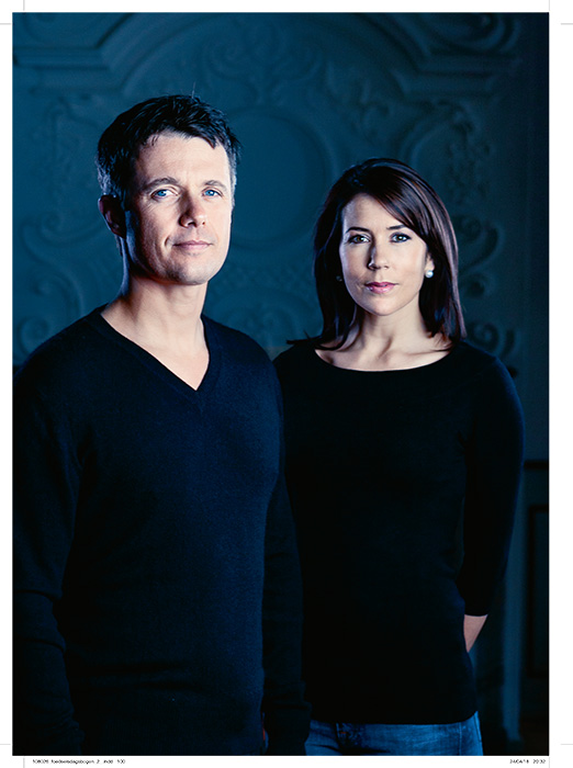See the photos Crown Princess Mary of Denmark chose for husband Prince Frederiks 50th birthday book Photo C GETTY