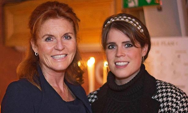 Proud mum Sarah Ferguson pays sweet tribute to daughter Princess Eugenie Photo (C) GETTY