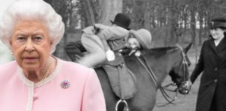 Queen's love of horses started from a very young age Photo (C) BBC, GETTY