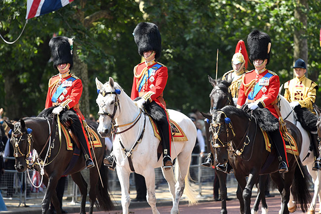 The Duke of York was made Colonel of the Grenadier Guards at a special ceremony back in March Photo C GETTY
