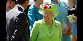 Queen Elizabeth during day four of Royal Ascot Photo (C) REUTERS