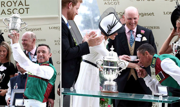 Royal Ascot Frankie Detorri reveals what he told Meghan Markle PhRoyal Ascot Frankie Detorri reveals what he told Meghan Markle Photo (C) GETTYoto (C) GETTY