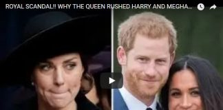 Royal Scandal Why the Queen Rushed Harry and Meghans Wedding
