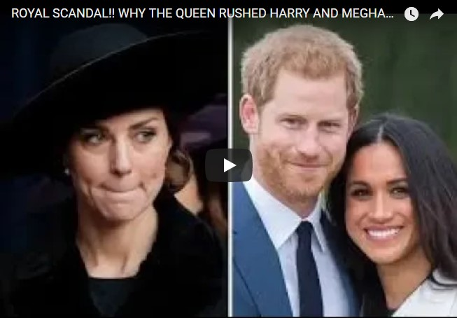 Royal Scandal!! Why the Queen Rushed Harry and Meghan's Wedding