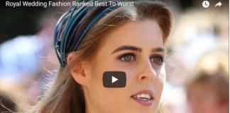 Royal Wedding Fashion Ranked Best To Worst