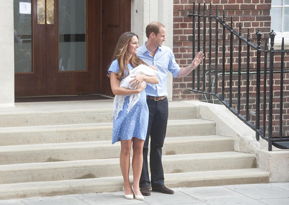 Royal baby news Kate and William waited to welcome their first child Prince George Photo (C) GETTY