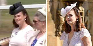 Samantha Cohen was spotted during Royal Ascot procession Photo (C) GETTY, ITV