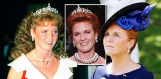 Sarah Ferguson tiara What happened to present from Queen not seen for 17 years Photo C GETTY