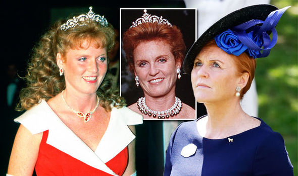 Sarah Ferguson tiara: What happened to present from Queen not seen for 17 years? Photo (C) GETTY
