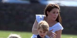Some have questioned Kate's decision to allow Prince George to play with a toy gun (Picture i-Images)
