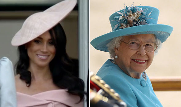 The Duchess of Sussex was spotted curtsying to the Queen Photo C REUTER IG