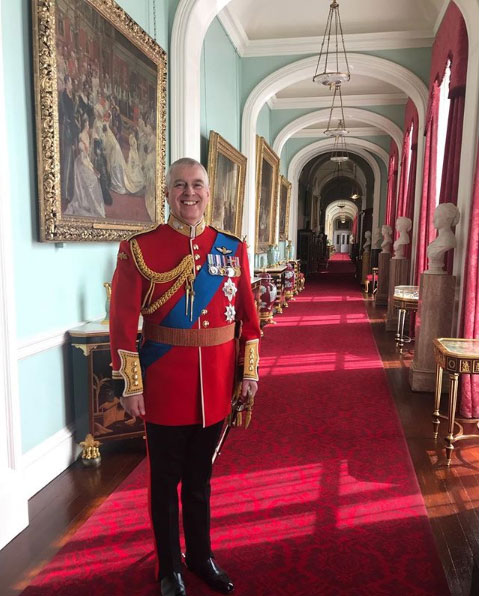 The Duke of York was made Colonel of the Grenadier Guards at a special ceremony back in March Photo (C) GETTYThe Duke of York was made Colonel of the Grenadier Guards at a special ceremony back in March Photo (C) GETTY