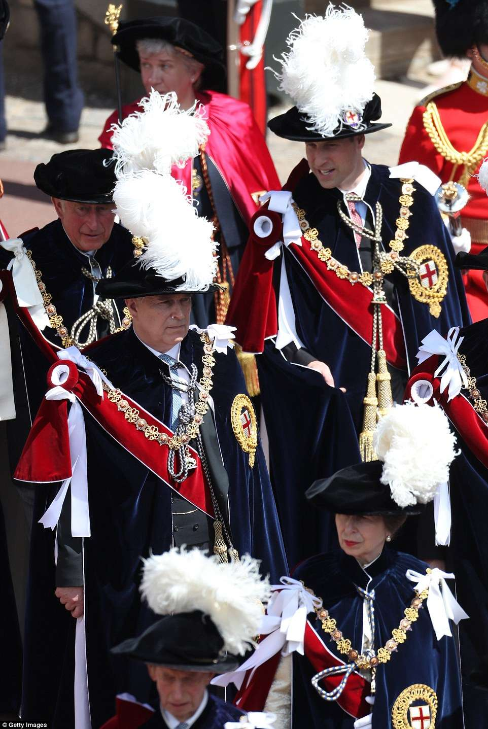 The Order of the Garter is the senior and oldest British Order of Chivalry, founded by Edward III in 1348. The Garter ceremonial dates from 1948