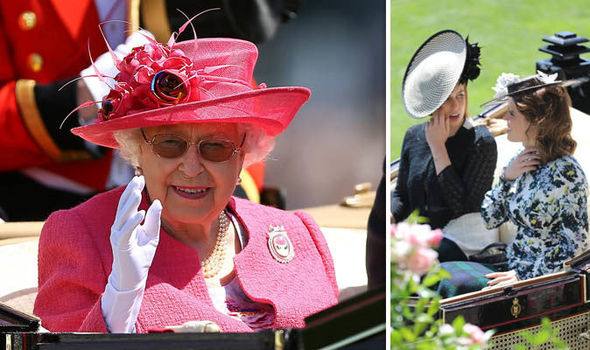 The Queen arrived at Royal Ascot for Ladies Day Photo (C) WENN, PA