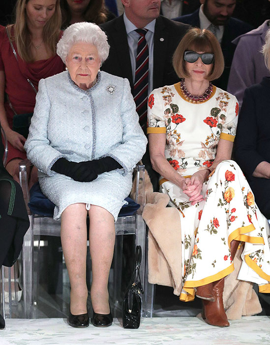 The Queen is a fashion icon Photo (C) GETTY