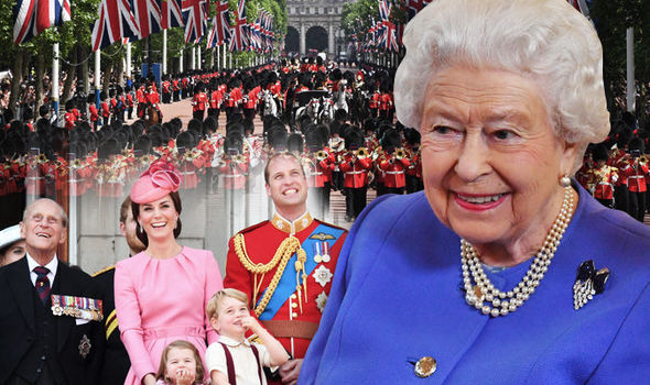 The Queen is celebrating her official birthday today Photo C GETTY