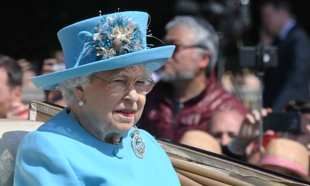 The Queen looked tired at Trooping the Colour because she barely slept the night before – heres why Photo C GETTY