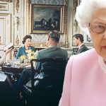 The Queen personally stepped in to block a Royal Family documentary being aired again Photo C GETTY