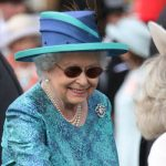 The Queen wore sunglasses at a series of events in recent weeks Photo C GETTY
