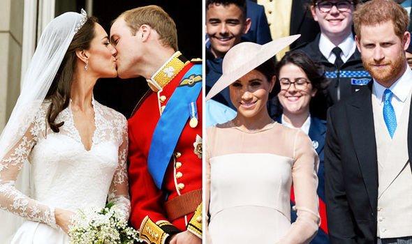 The balcony is famous for Royal couples making an appearance after they wed Photo (C) GETTY