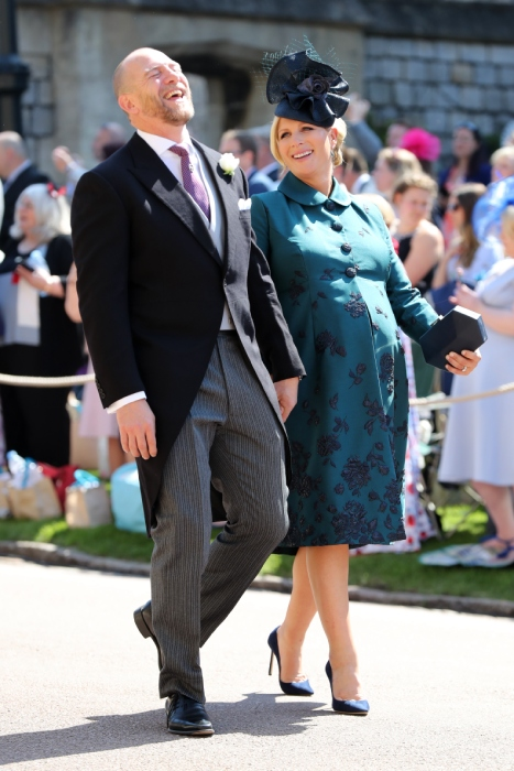 The couple were last seen out in public at Prince Harry and Meghan Markle's royal wedding in May Photo (C) GETTY