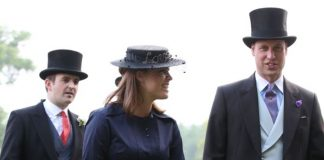 The princess at the Queen's recent garden party. Photo Getty