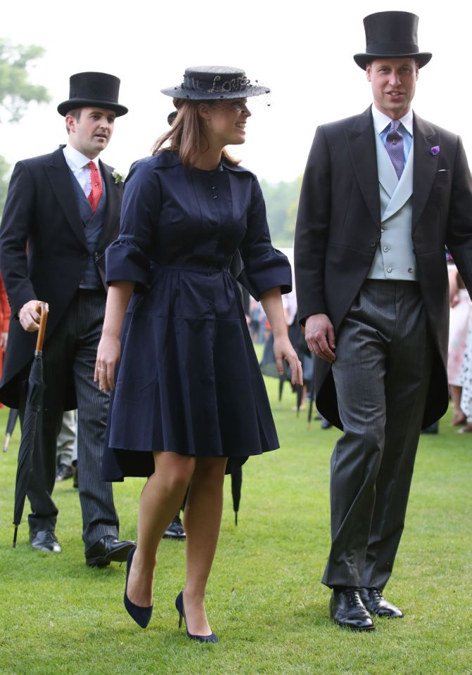 Her biggest struggle seems to be with the royal dress code. Especially the 'low hemlines and modest necklineSource Getty