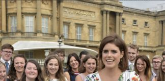 The series of posts showed the princess wearing a white floating dress covered in a floral pattern Photo C INSTAGRAM PRINCESS EUGENIE