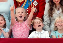 The young royals all seemed to enjoy the Trooping of the Colour Photo (C) GETTY