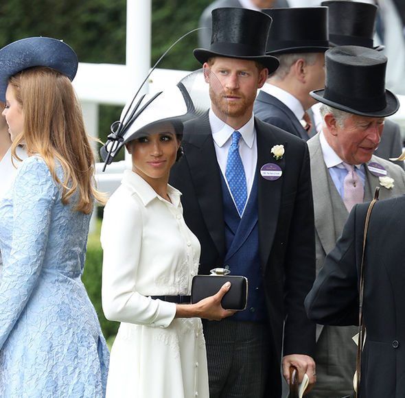 Thomas Markle's comments will be 'unwelcome' to Meghan and Harry Photo (C) GETTY