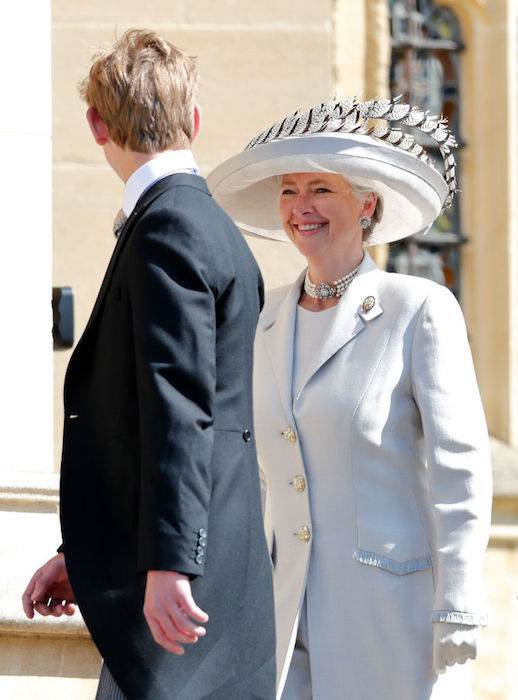 WINDSOR, UNITED KINGDOM - MAY 19: (EMBARGOED FOR PUBLICATION IN UK NEWSPAPERS UNTIL 24 HOURS AFTER CREATE DATE AND TIME) Tiggy Pettifer and Tom Pettifer attend the wedding of Prince Harry to Ms Meghan Markle at St George's Chapel, Windsor Castle on May 19, 2018 in Windsor, England. Prince Henry Charles Albert David of Wales marries Ms. Meghan Markle in a service at St George's Chapel inside the grounds of Windsor Castle. Among the guests were 2200 members of the public, the royal family and Ms. Markle's Mother Doria Ragland. (Photo by Max Mumby/Indigo/Getty Images)
