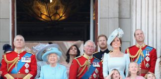 WATCH The Royal Family at the Trooping of the Colour ceremony Photo (C) GETTY