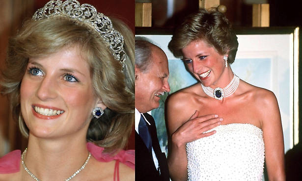 Why forgotten pieces from Princess Diana's jewellery collection will be seen more in public from now on Photo (C) GETTY