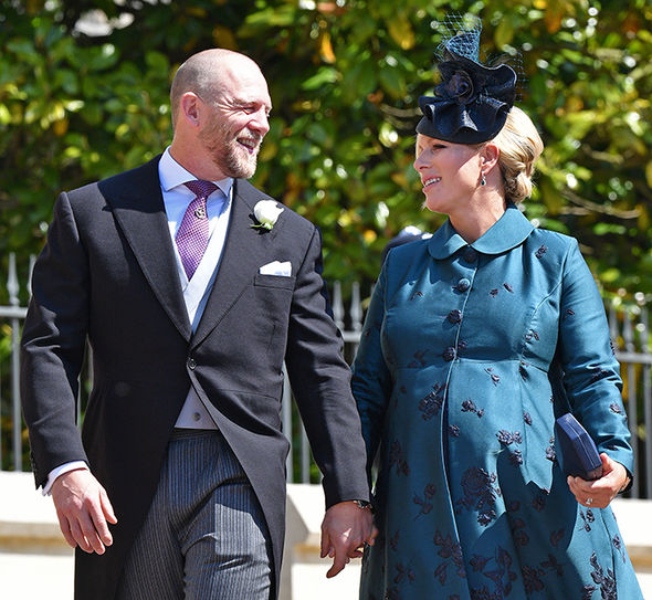 Zara Tindall and Mike Tindall welcomed their second child in to the world on Monday Photo (C) GETTY