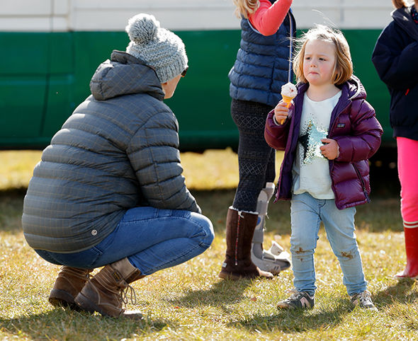 Zara Tindall's baby joins adorable sister Mia Photo (C) GETTY