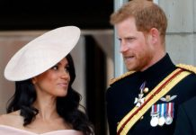 The public caught a glimpse of Prince Harry and Meghan yesterday Photo (C) GETTY