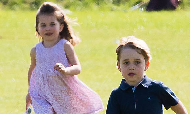 Prince George and Princess Charlotte have caught the World Cup fever - details Photo (C) Getty
