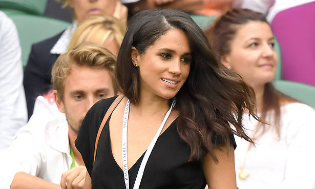 Meghan last attended Wimbledon in summer 2016 Photo (C) GETTY