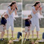 1 Prince George and Princess Charlotte Photo (C) GETTY