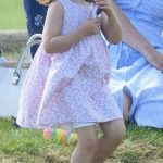 1 Princess Charlotte Playing Photo (C) GETTY