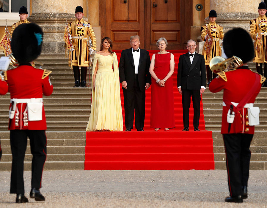 Melania Trump UK visit Latest pictures as US First Lady visits Britain Photo (C) GETTY