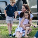 11 Prince George and Princess Charlotte Photo (C) GETTY